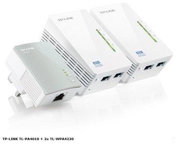 TP-Link TL-WPA4220T KIT AV500 Mbps Wi-Fi Powerline startset